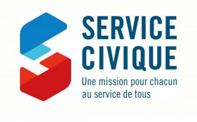 Logo service civique 611x378